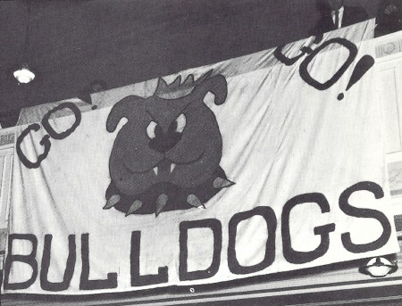 image of bulldogs banner