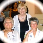 Elaine Laterza, Lina Paciulli and Eileen Murphy