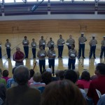 tour rotc in new gym